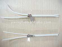 Cheap pvc zipper puller for packaging plastic zipper pvc pouch with zipper