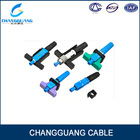 FTTH Cable Fiber Optics Connector Applicable For FTTX st upc optic fiber connector