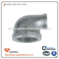 npt standard malleable iron hex nippels