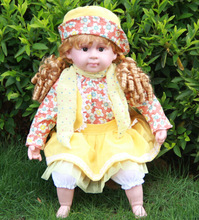 24 inch beautiful Intelligent baby doll toy,Intelligent dialogue real doll,baby talking doll