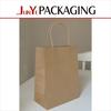 Manufacturer direct sale various kraft paper bag custom free design golf gift bag