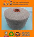 100% recycelter baumwolle garn/niedrigen preis recycling regeneriert 65/35 5s safran gelb open end/oe recyceln baumwollgarn für glovesfor f