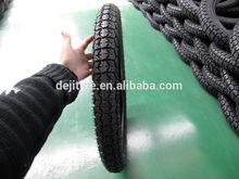 Qingdao Deji popular patterns various size motorcycle tyre 2.75-17 3.00-18 TT Type