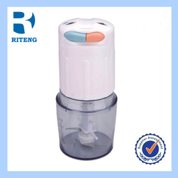 electric food chopper cute electric plastic genius double stainless steel blade food processor