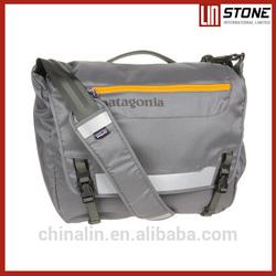 fashion vertical messenger laptop bag