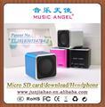 Angel music jh-md06d alto-falante usb falante cubo copa do mundo de souvenir 2014