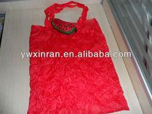 Custom recycled korean strawberry shape folding bag