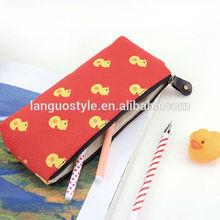 Languo rubber duck style pencil bag / rubber duck pencil cases / for wholesale Model:LGAM-2688