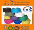 100% recycelter baumwolle garn/niedrigen preis recycling regeneriert 65/35 10s safran gelb open end/oe recyceln baumwollgarn für glovesfor