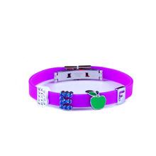 popular beautiful silicone wristband bracelet bangles handcrafts