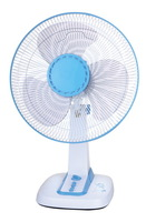 """Home Essentials White 3-Speed 16"""" inch Oscillating Desk Table Floor Fan 2014 new model electric table fan"""