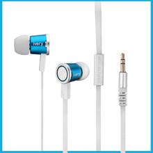 mentallic flat wire in-ear custom earphone logo