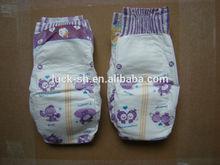 clothlike film baby diaper with magic tape for Uzbekistan/Turkmenistan/Afghanistan/Iraq/Iran