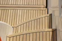 2014 YULI water proof teak wood decking for boat /dry decking floor