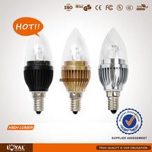 High lumen led candle light new product 2014