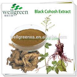 high quality black cohosh p.e./top quality black cohosh extract/black cohosh pe