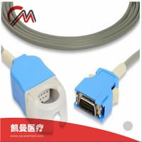 Nihon Kohden OPV-1500 Life Scope JL-302T SpO2 Adapter Cable