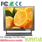 Surveillance wall CCTV 12 inch VGA/ AV/ BNC input lcd monitor cctv