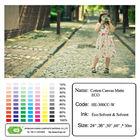 Waterproof ECO matte cotton canvas/inkjet media