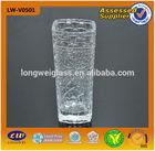 2014 lead crystal vase square clear glass vase