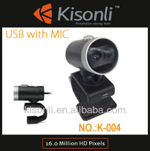 Lowest Prices 360 Rotation Webcam Laptop PC Camera VGA Web Cams