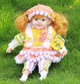 22 pulgadas inteligente hermosa muñeca de juguete, el diálogo inteligente muñeca real, bebé a hablar de la muñeca