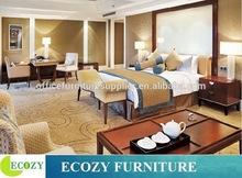 Red cherry wood veneer bedroom furniture