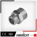 B404- proveedor de china de neumático de latón unión conexión adaptador macho de pvc instalación de tuberías
