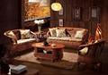 2014 produto verde de lazer sofá de vime sintético conjunto são de design para a sala de casa