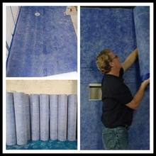 0.6mm colored ECO- friendly waterproof membrane bathrooms