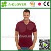 Wholesale custom fashion men dri fit fabric t shirt polo