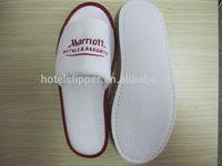 famous Marriott hotel slippers hotel velour slippers