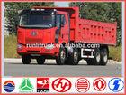 China brand new FAW J6M 8*4 40 ton dump truck for sale in dubai
