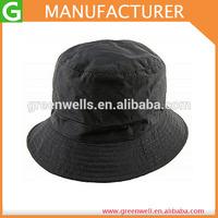 Black Nylon Rain Bucket Hat Wholesale Bucket Hat