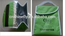 Eco-friendly aluminium foil insulated cooler bag
