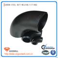 negro de acero al carbono de tubos sin costura