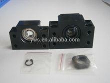 EK5 EK6 linear bearing ball screw floated fixed side with lock nut