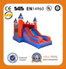 blue and red inflatable bouncer inflatable bouncer games inflatable maze with slide