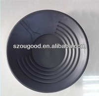 hot selling top-quality plastic pans for river sand gold separation