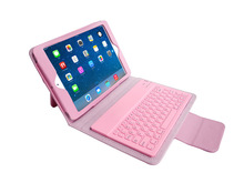 Leather Bluetooth Keyboard Stand Case Cover for iPad Mini 2 for iPad Mini