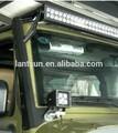 venda quente 50 polegadas led luz fixação do suporte de montagem para jeep wrangler jk suporte do telhado