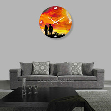 Home decor design ideas for bedroom wall clock