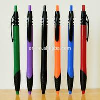 new promotional logo office pens,advertising cheap ballpoint plastic pen