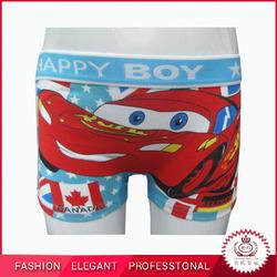 Carton young boys wearing panties