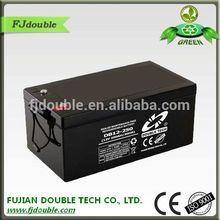 sealed lead acid solar gel battery 12v 250ah for ups
