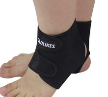 neoprene waterproof promotional logo customized soccer ankle support