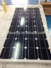 12v 90w mono solar panel high quality