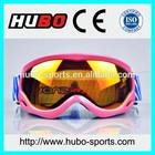Fashion design anti slip strap motorcycle glasses motocross goggles kid