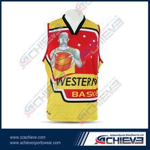 sublimation custom sportswear reversible basketball short manufacturer