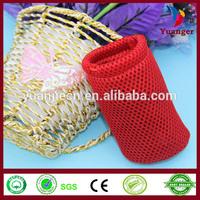 2014 China Cheap Plain Travel Black Label Net Hair Packaging Gift Mesh Bag